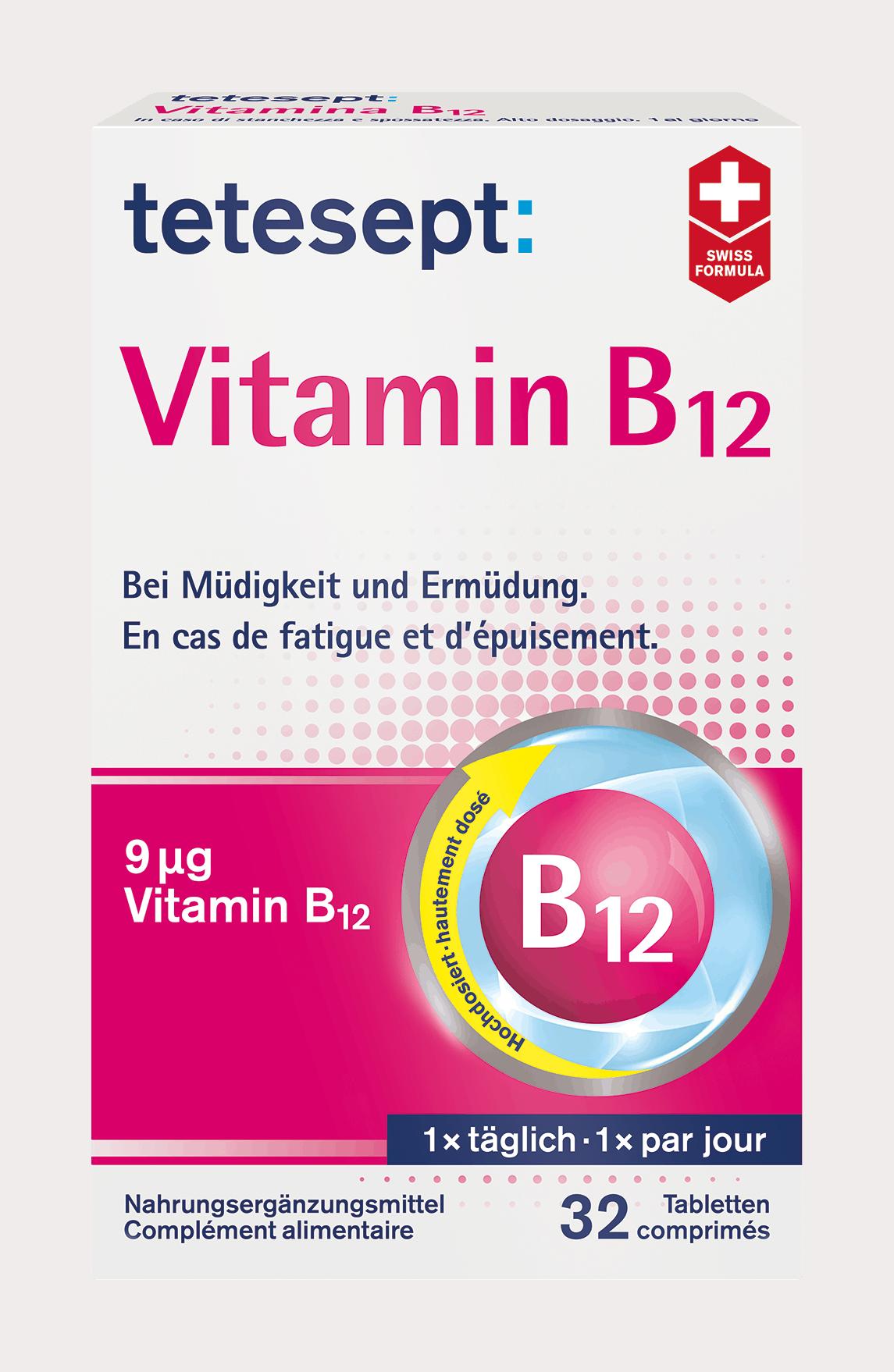 Vitamine bei müdigkeit welche Welche Vitamine